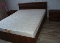 Кровать + матрас «Классик» + две тумбы