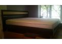 Кровать двуспальная с ортопедическим матрацем