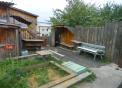 Дом Кодинка Луговая 9, 40 кв.м., участок 7+5 сот. гараж, баня