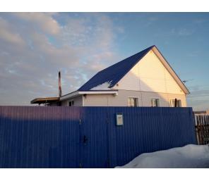 Дом 81,4 кв.м. с. Рыбниковское, ул. Молодежная